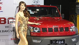 Vietnam Int'l Motor Show 2015 held in Hanoi