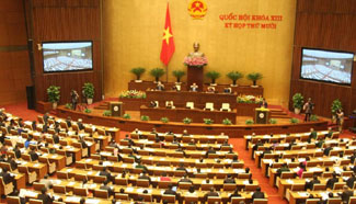 "Vietnam kicks off 2015 year-end parliament meeting with ""significant issues"""