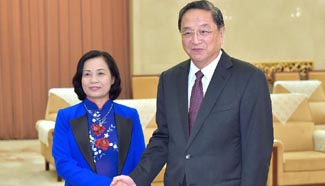 China's top political advisor vows closer ties with Vietnam