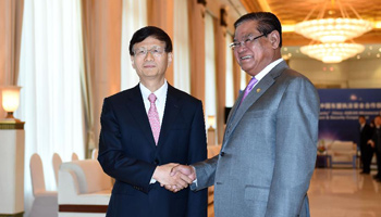 Chinese security official meets Cambodian, Vietnamese, Russian officials