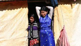Thousands living at temporary shelters 6 months after Nepal quake