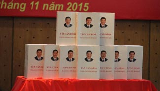 Vietnamese edition of Xi's book on governance launched in Hanoi