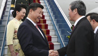 Xi arrives on Vietnam visit, aiming to outline future ties