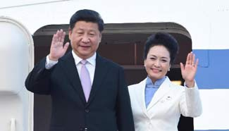 In pics: Chinese president's visit to Vietnam, Singapore