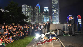 Consulate General of France in HK honours Paris attack victims