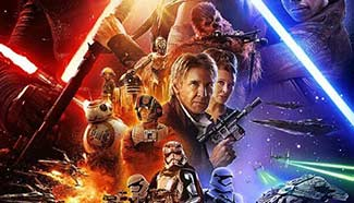 "Posters of ""Star Wars: The Force Awakens"""