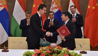 China signs high-speed rail construction deals with Hungary and Serbia