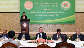 Int'l Day of Solidarity with Palestinian People and Chinese-Arab Friendship Day marked