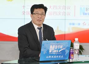 王景海做客新華網兩會訪談直播間