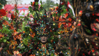 Jermber Fashion Carnival 2016 held in Indonesia