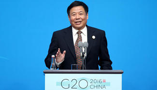 China's finance official addresses press conference on G20