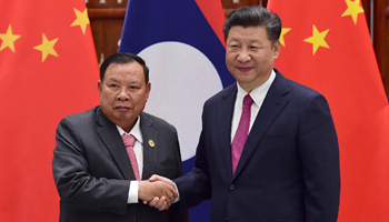 President Xi proposes community of common destiny with Laos