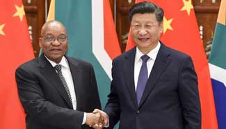 China, South Africa to further strengthen ties