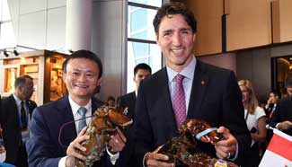 Canadian PM, Jack Ma launch Tmall online shop for Canadian specialities