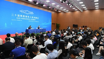 Press conference on expected achievements in trade talks at G20 held in Hangzhou
