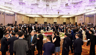 Business 20 summit banquet held in China's Hangzhou