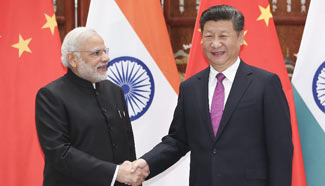 China willing to maintain hard-won sound relations with India, Xi says