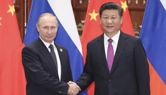 Xi meets Putin, calling for firm mutual support
