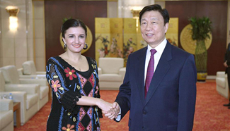 Chinese VP meets foreign leaders