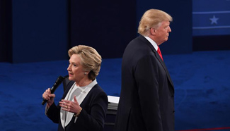 Trump, Clinton participate in 2nd U.S. presidential debate