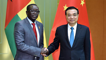 Chinese premier eyes more cooperation with Guinea Bissau