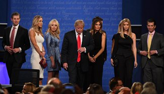 Highlights of U.S. final presidential debate in Las Vegas