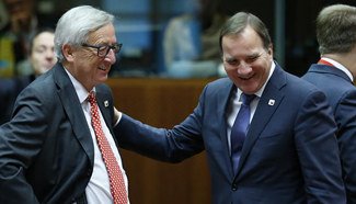 Meeting of EU Summit enters 2nd day in Brussels