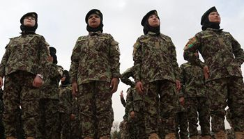 700 Afghan youth including 141 girls finish military training in Kabul