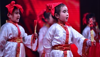 Residents stage community Spring Festival gala in E China
