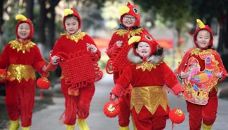 People across China greet upcoming Spring Festival