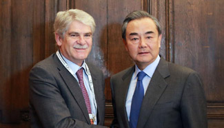 Chinese, Spanish FMs agree to boost ties