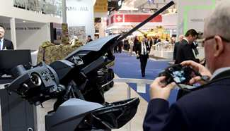 Int'l Defense Exhibition held in Abu Dhabi, UAE