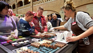 Highlights of Amsterdam chocolate fest