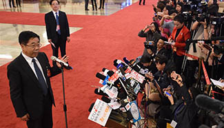 Ministers receive interview in Beijing
