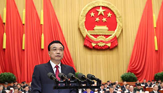 Premier Li Keqiang: China to strengthen maritime, air defense and border control
