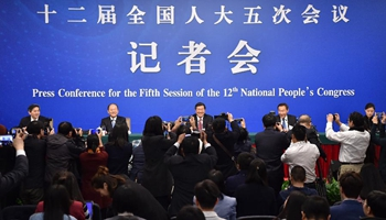 NDRC holds press conference for 5th session of 12th NPC on China's economy