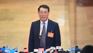 Ministers receive interviews after 2nd plenary meeting of 5th session of 12th NPC
