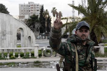 Syrian army recaptures all areas fallen to rebels during Damascus offensive