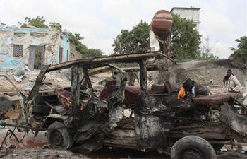 15 killed in huge blast in Mogadishu