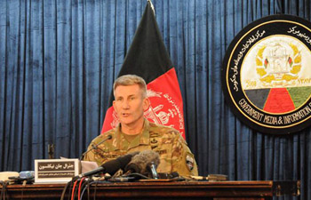 NATO commander in Afghanistan claims timing of using MOAB not related to outside events