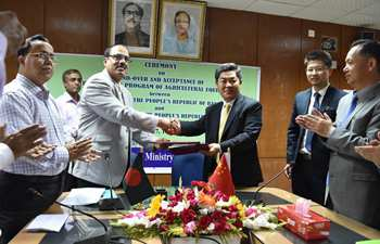 China provides over 6,000 pieces of agricultural equipment for Bangladesh