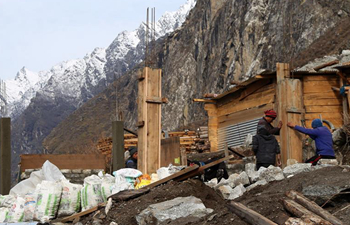 Reconstruction underway in earthquake-damaged region of Nepal