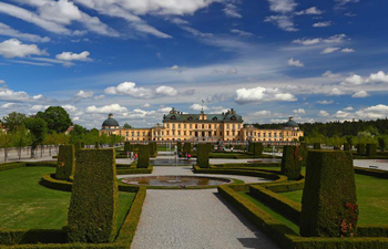 Stunning beauty of Royal Domain of Drottningholm in Sweden