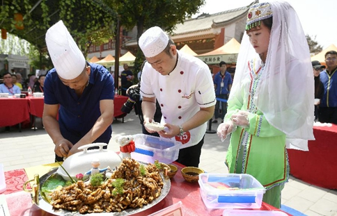 Food competition held to celebrate Duanwu Festival in China's Yinchuan