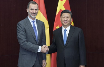 Chinese president meets with Spanish King in Kazakhstan
