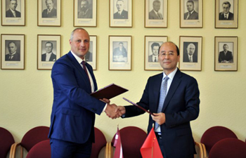 Xinhua, Latvia's state news agency sign news exchange, cooperation agreement