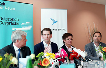 Sebastian Kurz drums up election campaign of Austrian People's Party