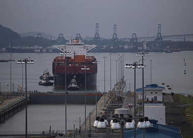 "Panama Canal in transition toward ""logistics hub"" after expansion"