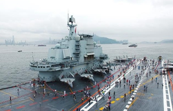 Chinese aircraft carrier formation opens for public to visit