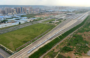 New high-speed rail in NW China completes national network